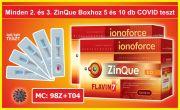 2026570F-2  Flavin7 ZinQue Ionoforce ital, 2x5x100 ml+AJÁNDÉK: 5 db COVID-19 IgG/IgM Gyorsteszt
