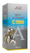 206533F  Crystal Silver Natur Power C10000, 500 ml.