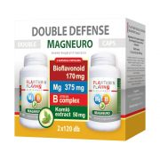 2025600F  Flavitamin Double Defense Magneuro Mg + B-vitamin komplex + CBD kapszula, 2x120 db.
